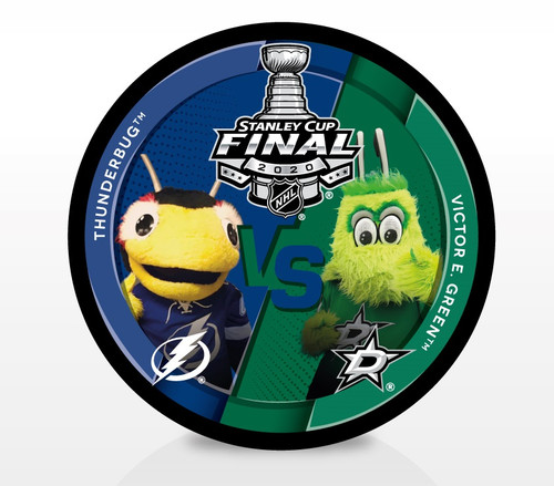 2020 NHL Stanley Cup Final - Thunderbug vs. Victor E. Green Dueling Souvenir Puck