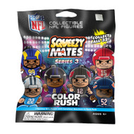 SqueezyMates NFL SERIES 3 COLOR RUSH Figurine Mystery Pack