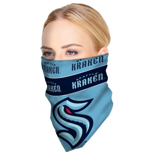 Seattle Kraken NHL Bandana Superdana Neck Gaiter Face Guard Mask Over Face