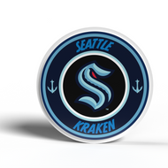 Seattle Kraken EVA Foam 3D NHL Magnet