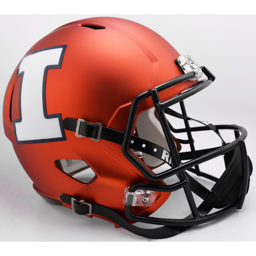Illinois Fighting Illini NCAA SPEED Riddell Full Size Replica Football Helmet