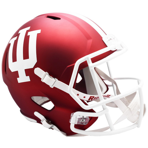 Indiana Hoosiers NCAA SPEED Riddell Full Size Replica Football Helmet