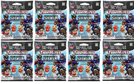 Party Animal NFL TeenyMates SERIES 9 SILVER SERIES Figurines Mystery Packs (8 Packs)