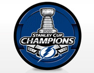 2020 NHL Stanley Cup Champions Tampa Bay Lightning Souvenir Puck