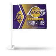 NBA Los Angeles Lakers 2020 Basketball Champions Car Flag