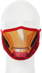 Ironman Marvel Adult Size Fabric Face Cover Guard Mask Facemask