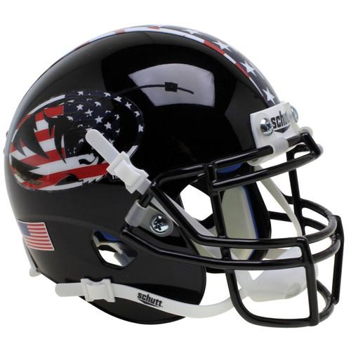 Missouri Tigers Alternate Black Patriot Tiger Schutt Mini Authentic Football Helmet