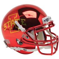 Iowa State Cyclones Chrome Schutt Authentic Mini Football Helmet