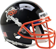 Oklahoma State Cowboys Black Schutt Mini Authentic Football Helmet
