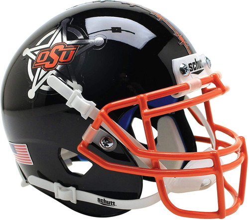 Oklahoma State Cowboys Black Schutt Mini Authentic Football Helmet