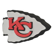 Kansas City Chiefs 3D Fan Foam Logo Sign