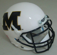 Missouri Tigers Alternate White M Schutt Mini Authentic Football Helmet