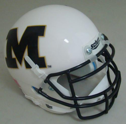 Missouri Tigers Alternate White M Schutt Mini Authentic Football Helmet