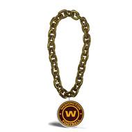 Washington Football Team NFL Touchdown Fan Chain 10 Inch 3D Foam Magnet Necklace