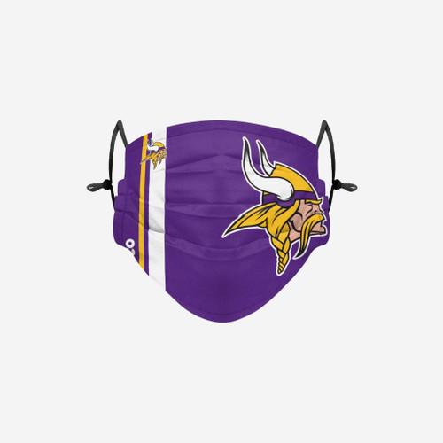 Minnesota Vikings NFL Official On-Field Sideline Logo Team Face Mask Cover Facemask