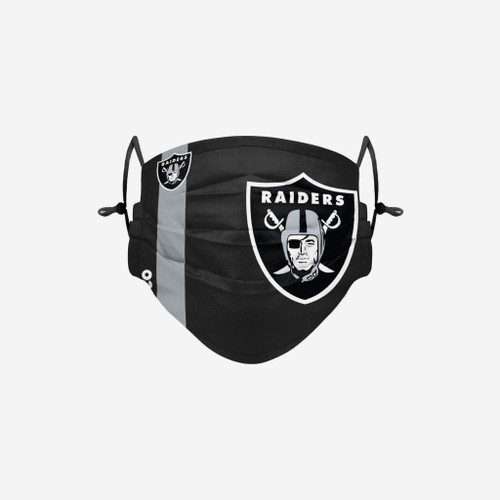 Las Vegas Raiders NFL Official On-Field Sideline Logo Team Face Mask Cover Facemask