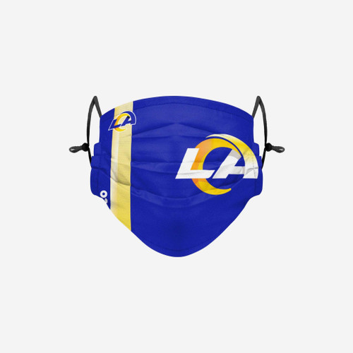 Los Angeles Rams NFL Official On-Field Sideline Logo Team Face Mask Cover Facemask