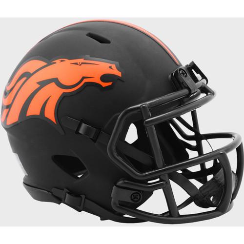 Denver Broncos 2020 Black Revolution Speed Mini Football Helmet