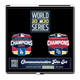 2020 World Series Commemorative Dueling 3 Pin Set - Tampa Bay Rays vs. Los Angeles Dodgers - Limited Edition of 2020 made
