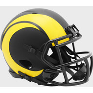 Los Angeles Rams 2020 Black Revolution Speed Mini Football Helmet