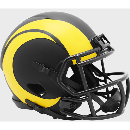 Los Angeles Rams 2020 Black Revolution Speed Mini Football Helmet