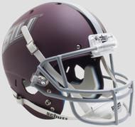 Southern Illinois Salukis Matte Maroon Schutt Full Size Replica Football Helmet