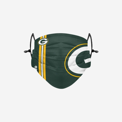 Green Bay Packers NFL Official On-Field Sideline Logo Team Face Mask Cover Facemask