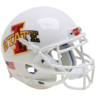 Iowa State Cyclones White Schutt Authentic Mini Football Helmet