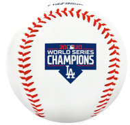 2020 MLB World Series Los Angeles Dodgers Champions Collectible Souvenir Replica Baseball by Rawlings