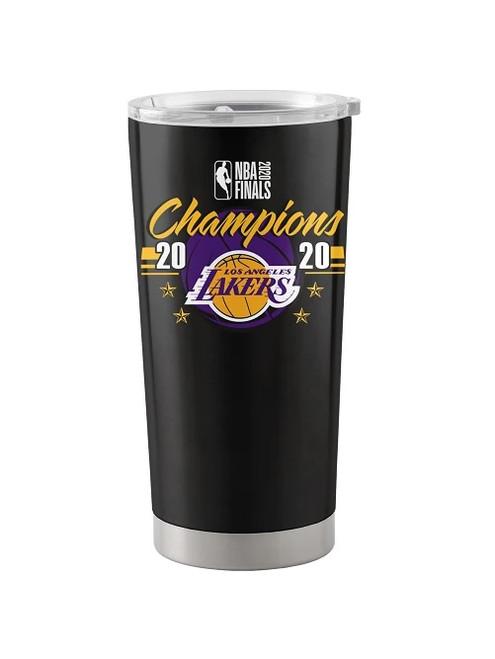 Los Angeles Lakers NBA Champions Black 20 oz. Stainless Tumbler Travel Mug