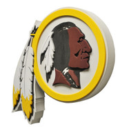 Washington Redskins 3D Fan Foam Logo Sign