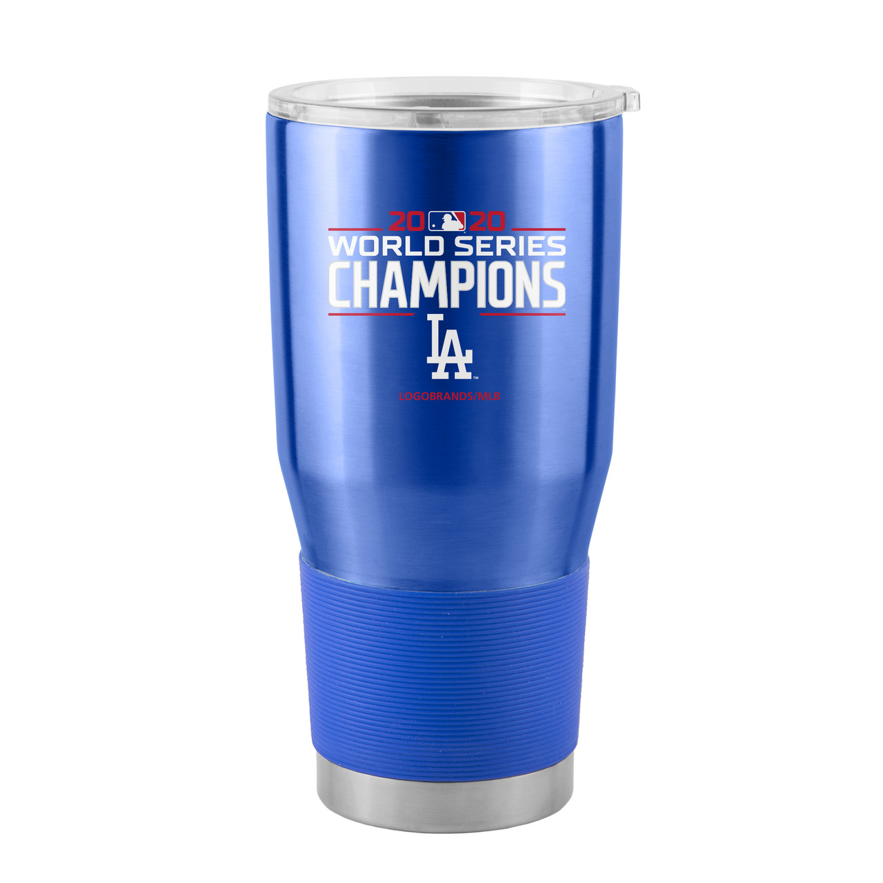 Dodgers 2020 World Series Champions 20 oz Stainless Tumbler Travel Mug L.A