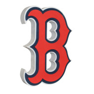 Boston Red Sox 3D Fan Foam Logo Sign