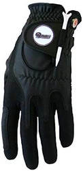 Zero Friction NFL Los Angeles Rams Black Golf Glove, Left Hand