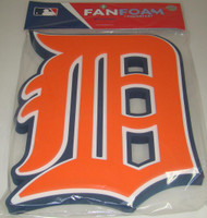 Detroit Tigers 3D Fan Foam Logo Sign