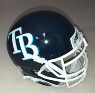 Tampa Bay Rays Schutt MLB Mini FOOTBALL Helmet