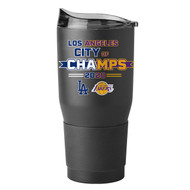 Los Angeles Dodgers and Lakers 2020 City of Champions 30 oz. Curved Ultra Tumbler