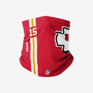 Patrick Mahomes Kansas City Chiefs On-Field Sideline Logo Neck Gaiter Scarf Face Guard Mask Facemask Head Cover