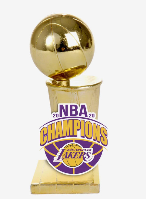 Los Angeles Lakers 2020 NBA Champions Trophy Paperweight