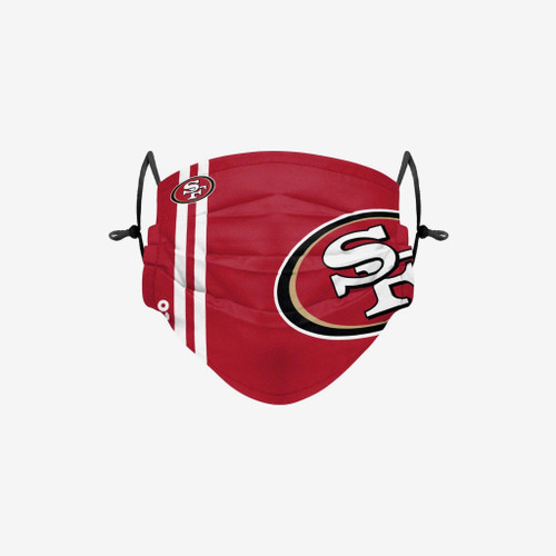 San Francisco 49ers NFL Official On-Field Sideline Logo Team Face Mask Cover Facemask