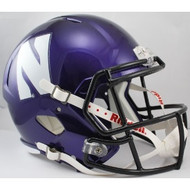 Northwestern Wildcats NCAA SPEED Riddell Full Size Replica Football Helmet