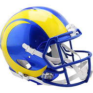 Los Angeles Rams New 2020 NFL Riddell Full Size Authentic SPEED Football Helmet