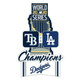 2020 World Series Historical Champions Commemorative Lapel Pin - Los Angeles Dodgers vs. Tampa Bay Rays