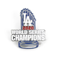 2020 Los Angeles Dodgers World Series Champions Diestruck Trophy Lapel Pin