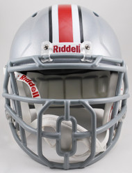 Ohio State Buckeyes NCAA Speed Full Size Replica Football Helmet Block O Mask Front