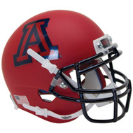 Arizona Wildcats Alternate Matte Scarlet Schutt Full Size Replica Football Helmet