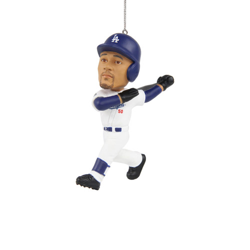 Mookie Betts Los Angeles Dodgers 2020 World Series Champions Player Resin Ornament