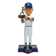 Corey Seager Los Angeles Dodgers 2020 World Series Champions 10'' MVP Bobblehead Doll