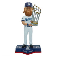 "Justin Turner Los Angeles Dodgers 2020 World Series Champions 8"" Bobblehead Bobble Head Doll"