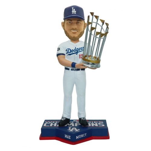 "Max Muncy Los Angeles Dodgers 2020 World Series Champions 8"" Bobblehead Bobble Head Doll"